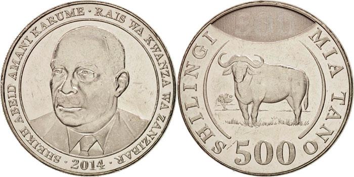 Монета 500 шилингов