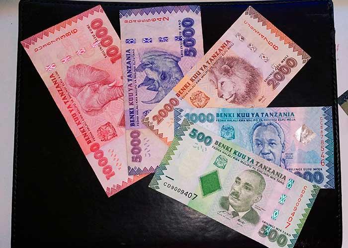 Новые купюры в Танзании