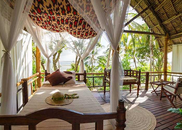 Райские бунгало для отдыха в Занзибаре