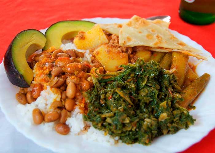 Рис с овощами, Национальное блюдо Танзании