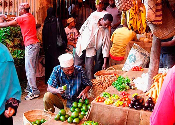 Рынок на Занзибаре