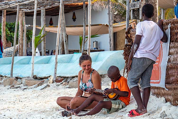 Отдых на острове Унгуджа архипелага Занзибар