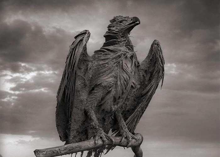Каменный орел в Натроне