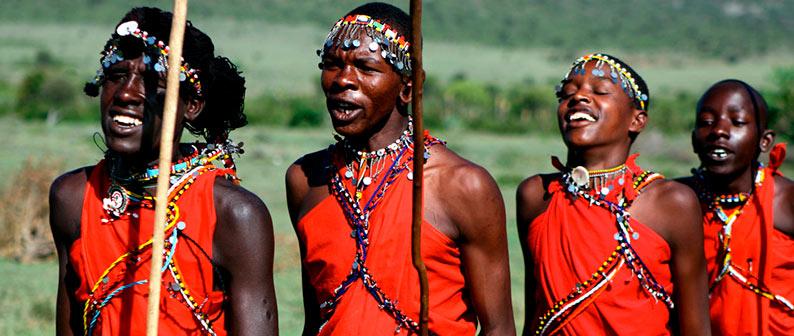 Масаи - удивительное племя в Африке