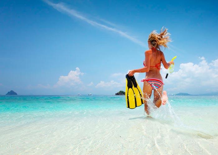 Песчаные пляжи Занзибара
