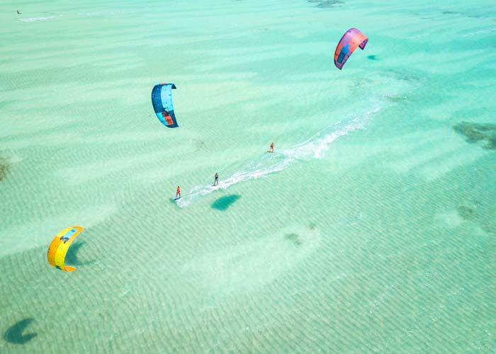 Пляж Падже – одно из лучших мест для кайта - фото