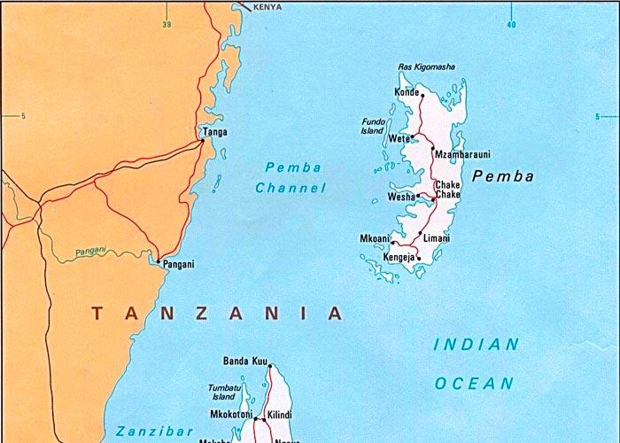 Пемба остров нетронутой цивилизацией - фото