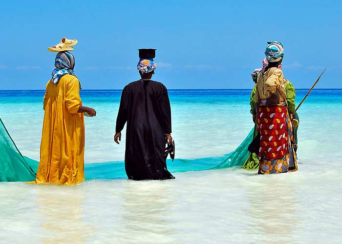 Побережье острова Мафия
