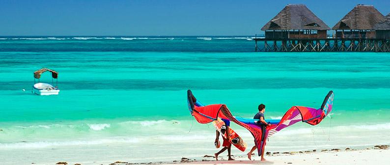 Пляж Падже – одно из лучших мест для кайта