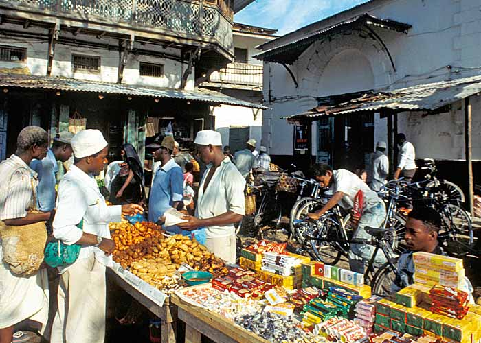 Африканский Darajani Bazaar