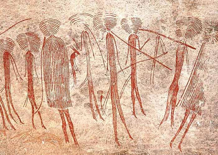 Древние рисунки