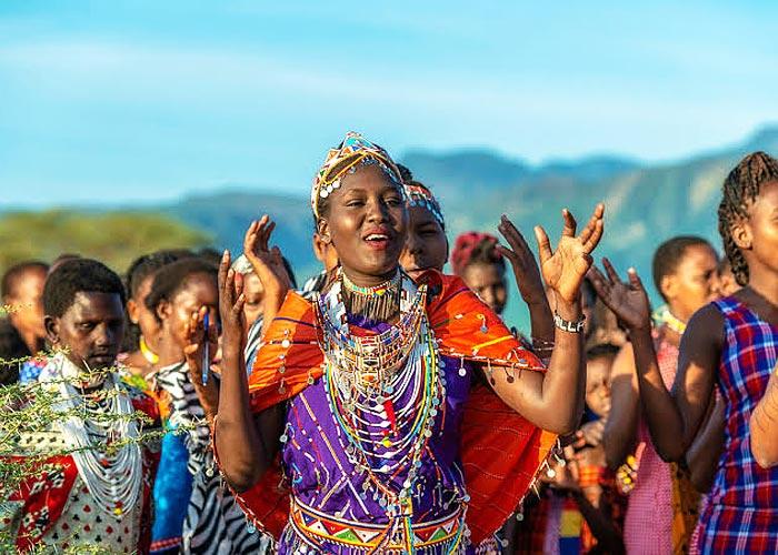 Племена в Танзании - фото